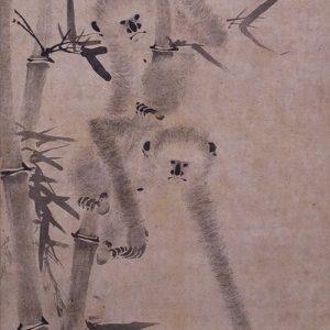 猿猴捕月図003