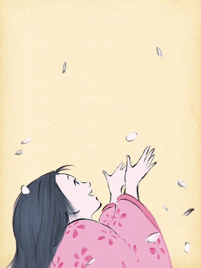 「かぐや姫の物語」 ©2013畑事務所・Studio Ghibli・NDHDMTK