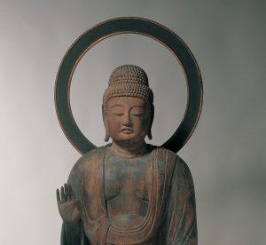 《薬師如来立像》 (重要文化財)平安時代 12世紀