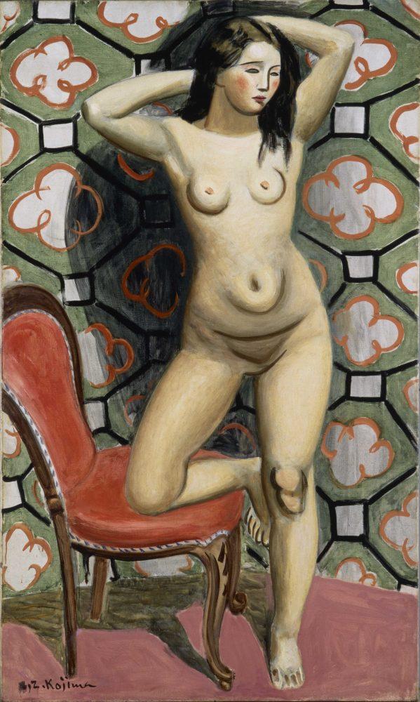 児島善三郎《鏡》1932年