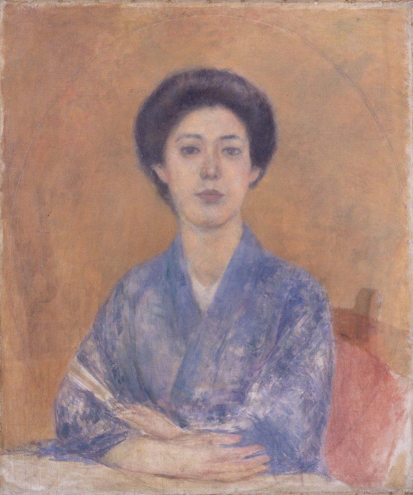 黒田清輝《婦人像》1897年