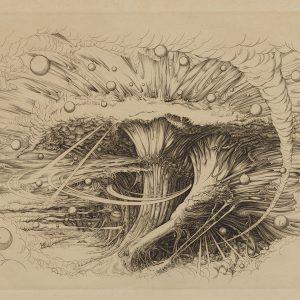 渡辺千尋《空の木》1987年