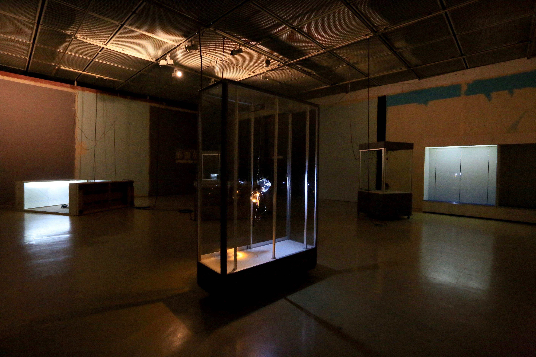 インスタレーションビュー「ミュージアムとの創造的対話#02」鳥取県立博物館、2018年、Photo by Ryoko Tanaka