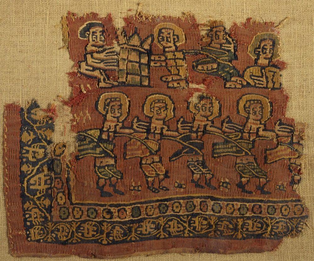 コプト裂と古代オリエント文物