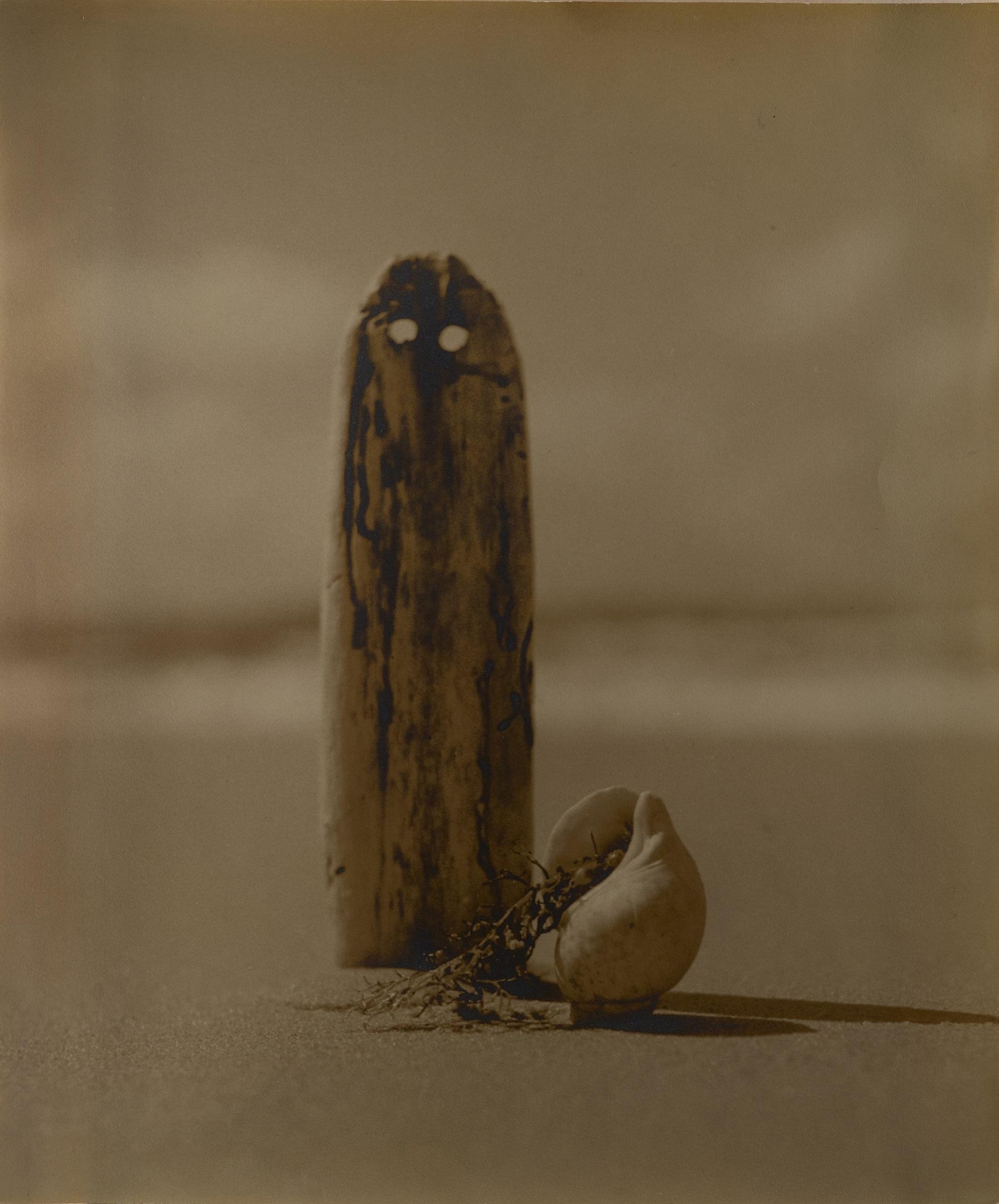 許斐儀一郎《 海の墓標》 1939年 個人蔵