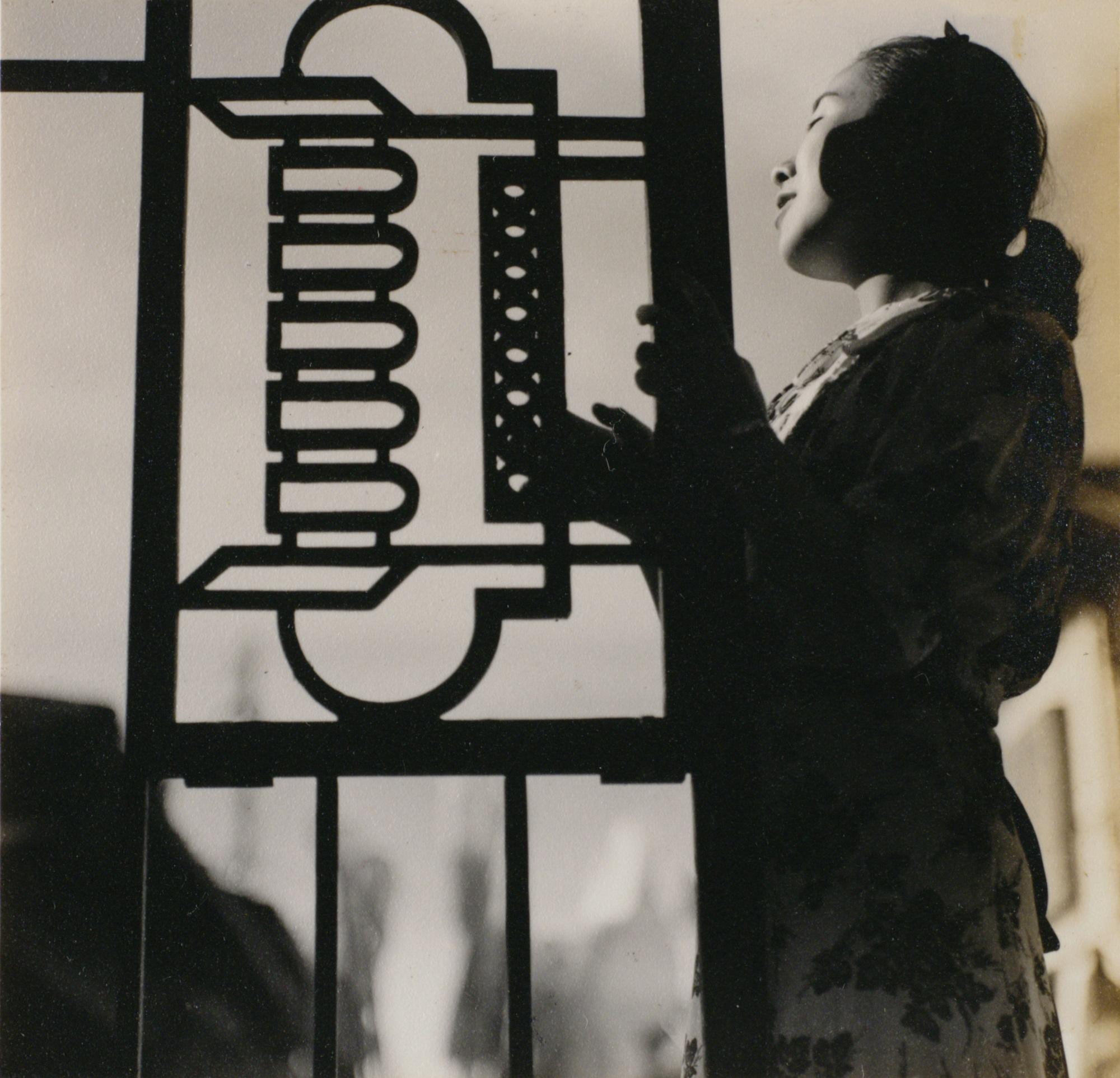吉崎一人《 嬉戯》 1938-1941年頃 東京都写真美術館蔵