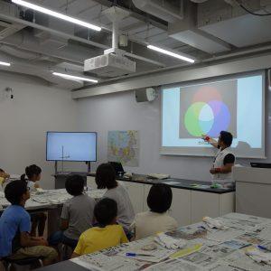 福岡市科学館でのワークショップ